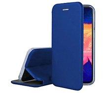 Etui Ibroz Samsung A10 Cuir bleu