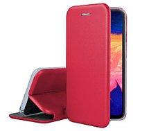 Etui Ibroz  Samsung A10 Cuir rouge