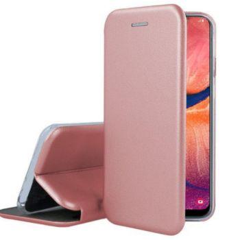 Ibroz Samsung A20e Cuir rose poudré