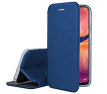 Etui Ibroz Samsung A20e Cuir bleu marine
