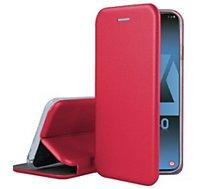 Etui Ibroz Samsung A40 Cuir rouge