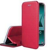 Etui Ibroz Samsung A50 Cuir rouge