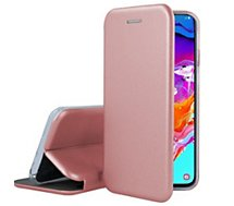 Etui Ibroz  Samsung A70 Cuir rose