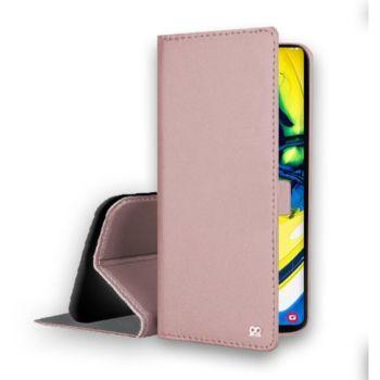 Ibroz Samsung A80 Cuir rose