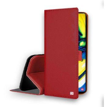 Ibroz Samsung A80 Cuir rouge