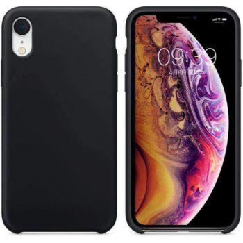 Ibroz iPhone Xr Liquid Silicone noir