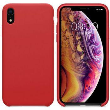 Ibroz iPhone Xr Liquid Silicone rouge