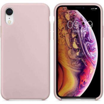 Ibroz iPhone Xr Liquid Silicone rose
