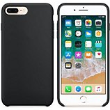 Coque Ibroz  iPhone 6/7/8 Liquid Silicone noir