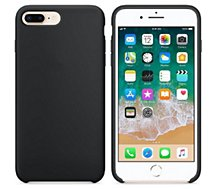 Coque Ibroz  iPhone 7/8/SE 2020 Liquid Silicone noir