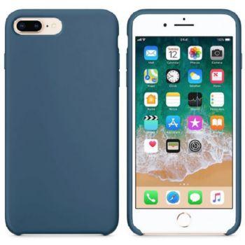 Ibroz iPhone 7/8/SE 2020 Liquid Silicone bleu