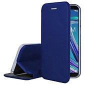 Etui Ibroz Asus Zenfone Max Pro M1 bleu