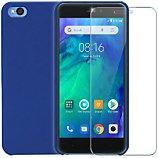 Pack Ibroz  Xiaomi Redmi Go Coque bleu