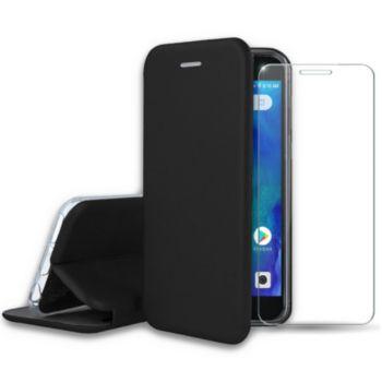 Ibroz Xiaomi Redmi Go Etui cuir noir