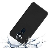Pack Ibroz Oppo A5 Coque Silicone noir