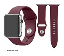 Bracelet Ibroz  Apple Watch SoftTouch 40mm bordeaux