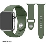 Bracelet Ibroz  Apple Watch SoftTouch 40mm vert olive