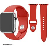 Bracelet Ibroz Apple Watch SoftTouch 40mm rouge