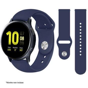 Ibroz Samsung/Huawei SoftTouch 20mm bleu