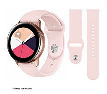 Bracelet Ibroz  Samsung/Huawei SoftTouch 20mm rose