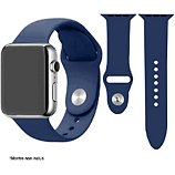 Bracelet Ibroz  Apple Watch SoftTouch 44mm bleu nuit
