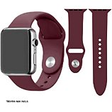 Bracelet Ibroz  Apple Watch SoftTouch 44mm bordeaux
