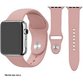 Bracelet Ibroz Apple Watch SoftTouch 44mm rose