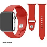 Bracelet Ibroz  Apple Watch SoftTouch 44mm rouge