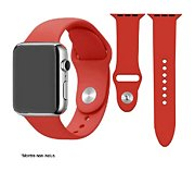 Ibroz Apple Watch SoftTouch 44mm rouge