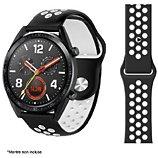 Bracelet Ibroz  Samsung/Huawei Sport 22mm noir/blanc