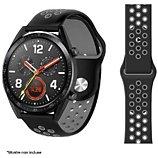 Bracelet Ibroz  Samsung/Huawei Sport 22mm noir/gris