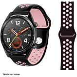 Bracelet Ibroz  Samsung/Huawei Sport 22mm noir/rose