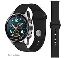 Bracelet Ibroz  Samsung/Huawei SoftTouch 22mm noir