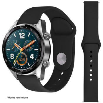 Ibroz Samsung/Huawei SoftTouch 22mm noir