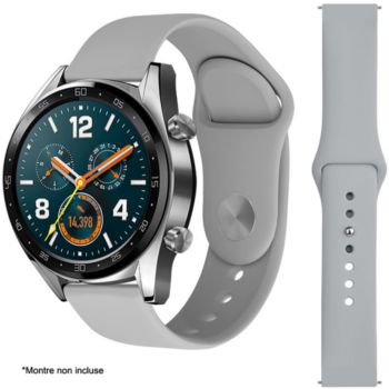 Ibroz Samsung/Huawei SoftTouch 22mm gris