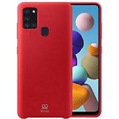 Coque Ibroz Samsung A21s Liquid Silicone rouge