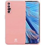 Coque Ibroz  Oppo Find X2 Neo Liquid Silicone rose