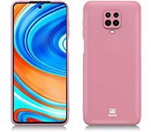 Coque Ibroz  Xiaomi Note 9 Pro Liquid Silicone rose