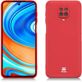 Ibroz Xiaomi Note 9 Pro Liquid Silicone rouge