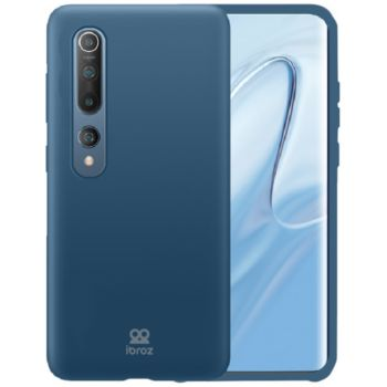 Ibroz Xiaomi Mi 10 Liquid Silicone bleu