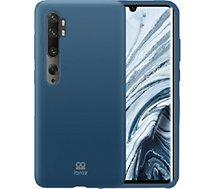 Coque Ibroz  Xiaomi Mi Note 10 Pro Silicone bleu