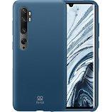 Coque Ibroz  Xiaomi Mi Note 10 Liquid Silicone bleu