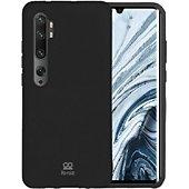 Coque Ibroz Xiaomi Mi Note 10 Liquid Silicone noir