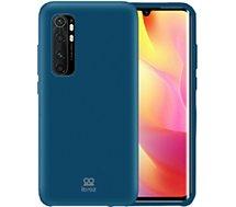 Coque Ibroz  Xiaomi Mi Note 10 Lite Silicone bleu