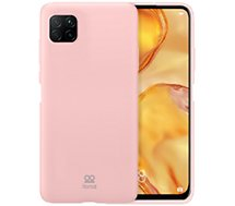 Coque Ibroz  Huawei P40 Lite Liquid Silicone rose