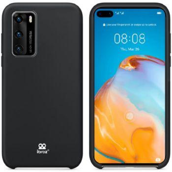 Ibroz Huawei P40  Liquid Silicone noir