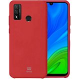 Coque Ibroz  Huawei P Smart 2020 Silicone rouge