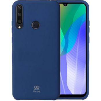 Ibroz Huawei Y6P 2020 Liquid Silicone bleu
