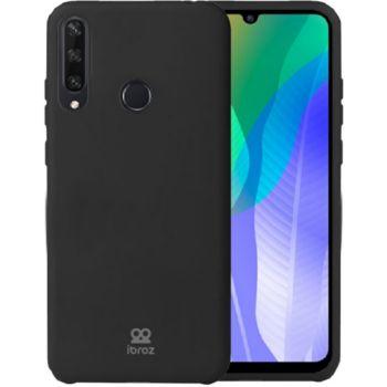 Ibroz Huawei Y6P 2020 Liquid Silicone noir