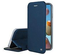 Etui Ibroz  Samsung A21s Cuir bleu